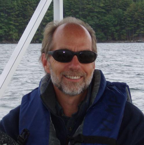 Scott on Boat