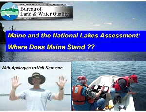 Maine and the National Lakes Assessment