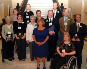 VLMP received Governor's Award for Service and Volunteerism