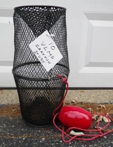 Crayfish Trap - Photo courtesy of VLMP